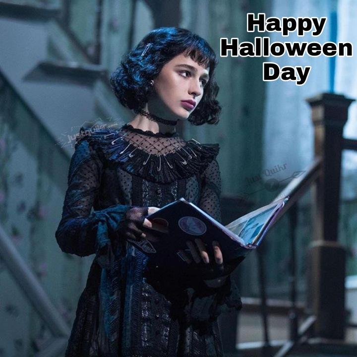 Halloween Day Dress Ideas for Long Black Dress