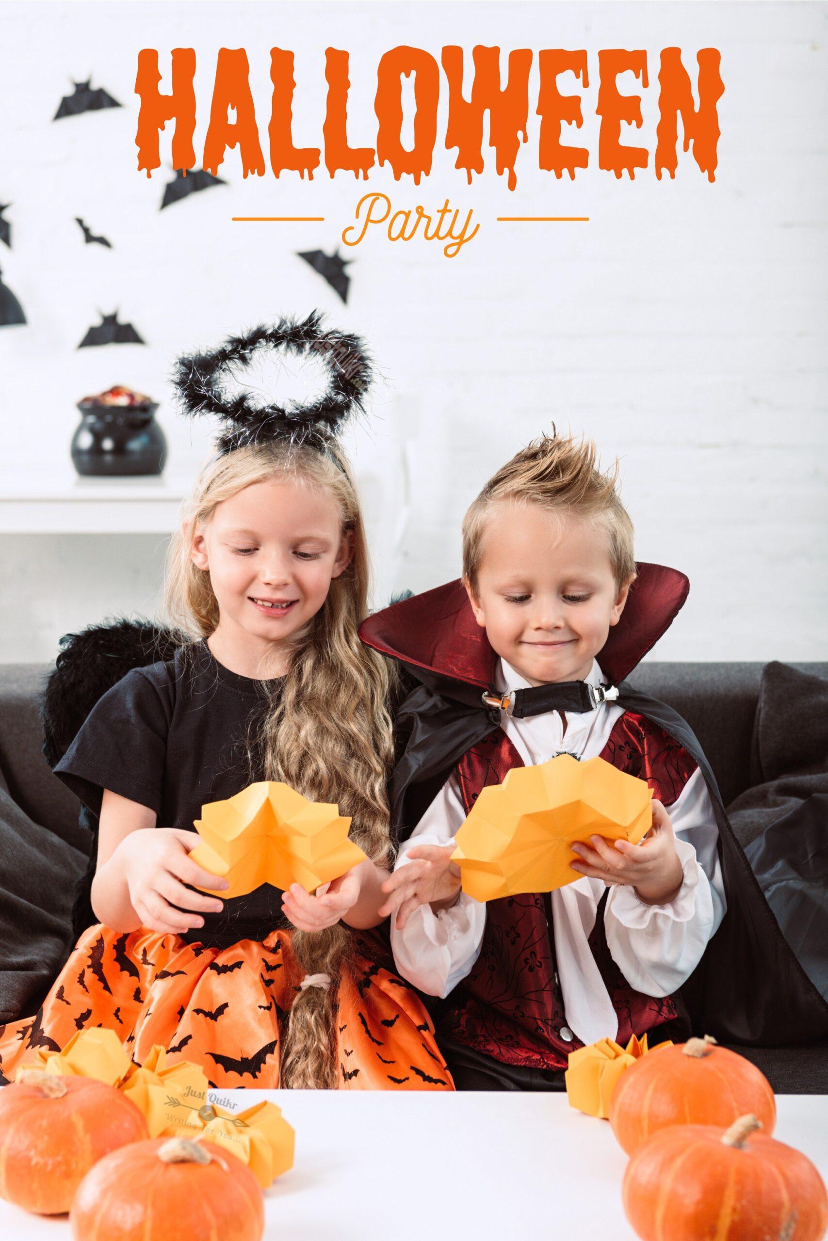 Halloween Day Dress Ideas for Preschoolers