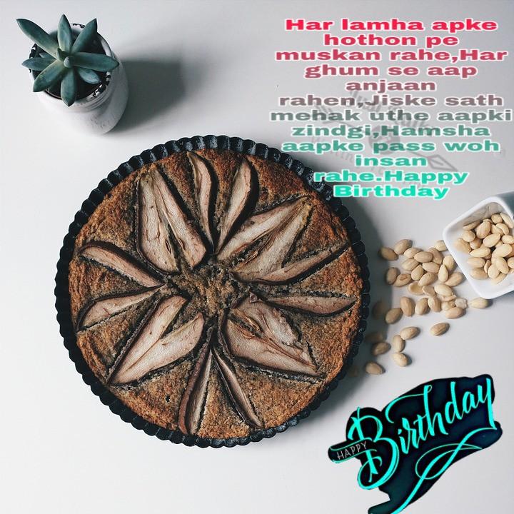 Happy Birthday Cake HD Pics Images with Shayari Sayings for