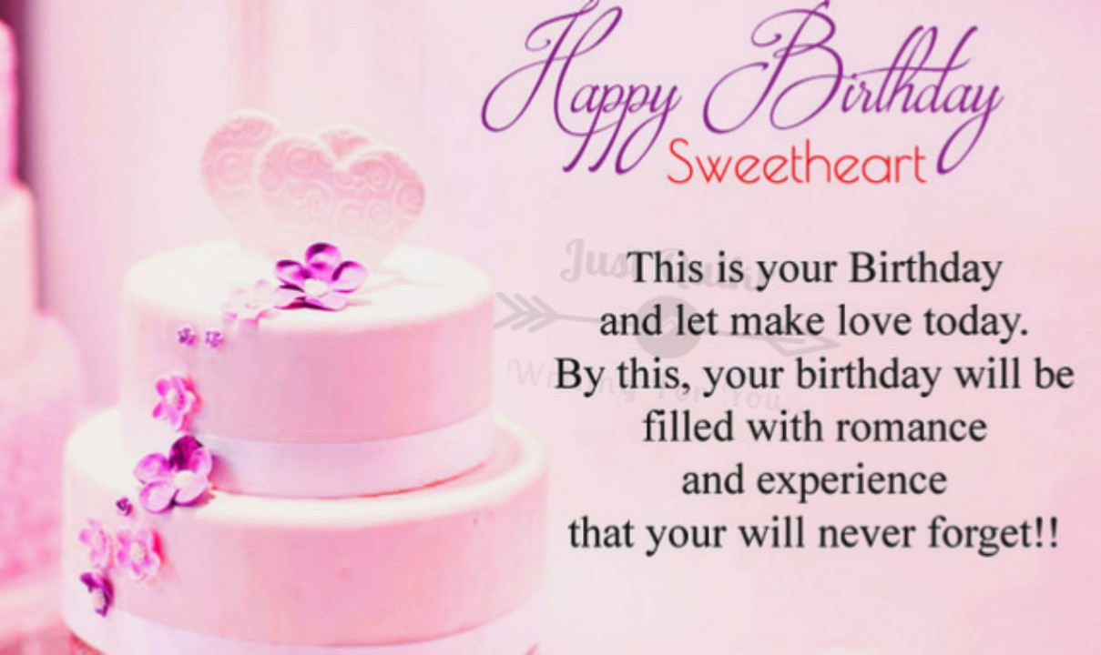 Happy Birthday Cake HD Pics Images with Wishes Quotes for Crush