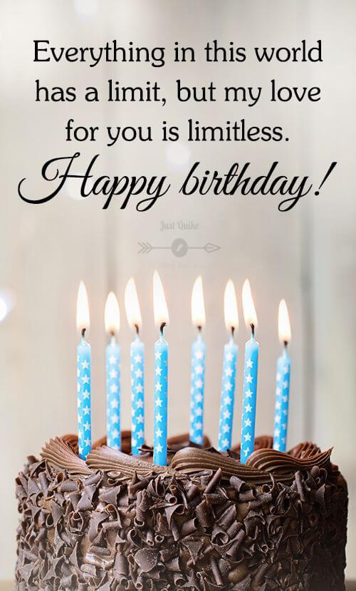 Happy Birthday Cake HD Pics Images with Wishes Quotes for Him