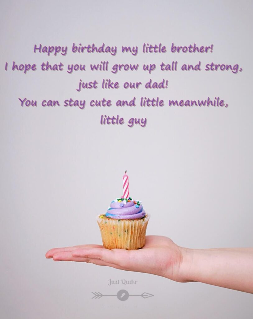 Happy Birthday Cake HD Pics Images with Wishes Quotes for Litle Brother Sister
