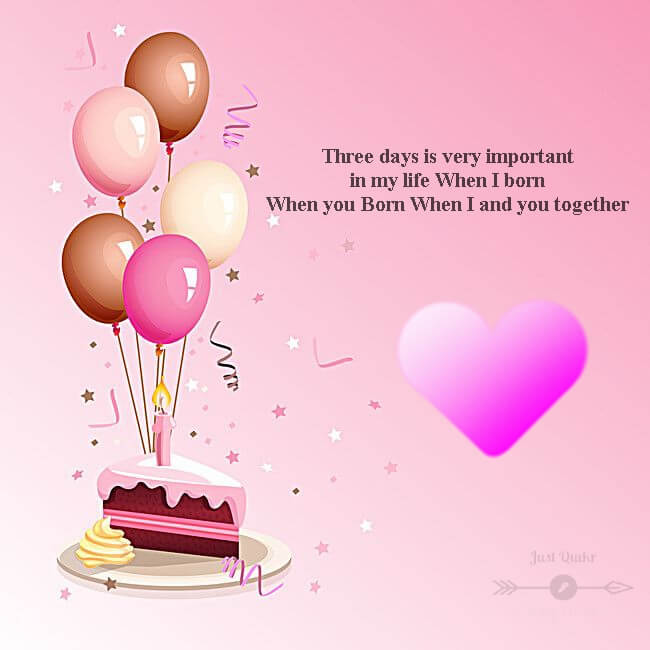 Happy Birthday Cake HD Pics Images with Wishes Quotes for Lover