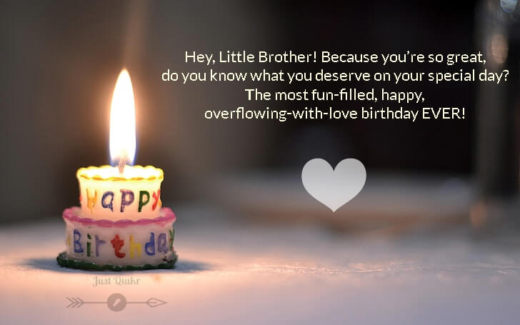 Happy Birthday Cakes HD Pics Images with Wishes Quotes for Little Brother