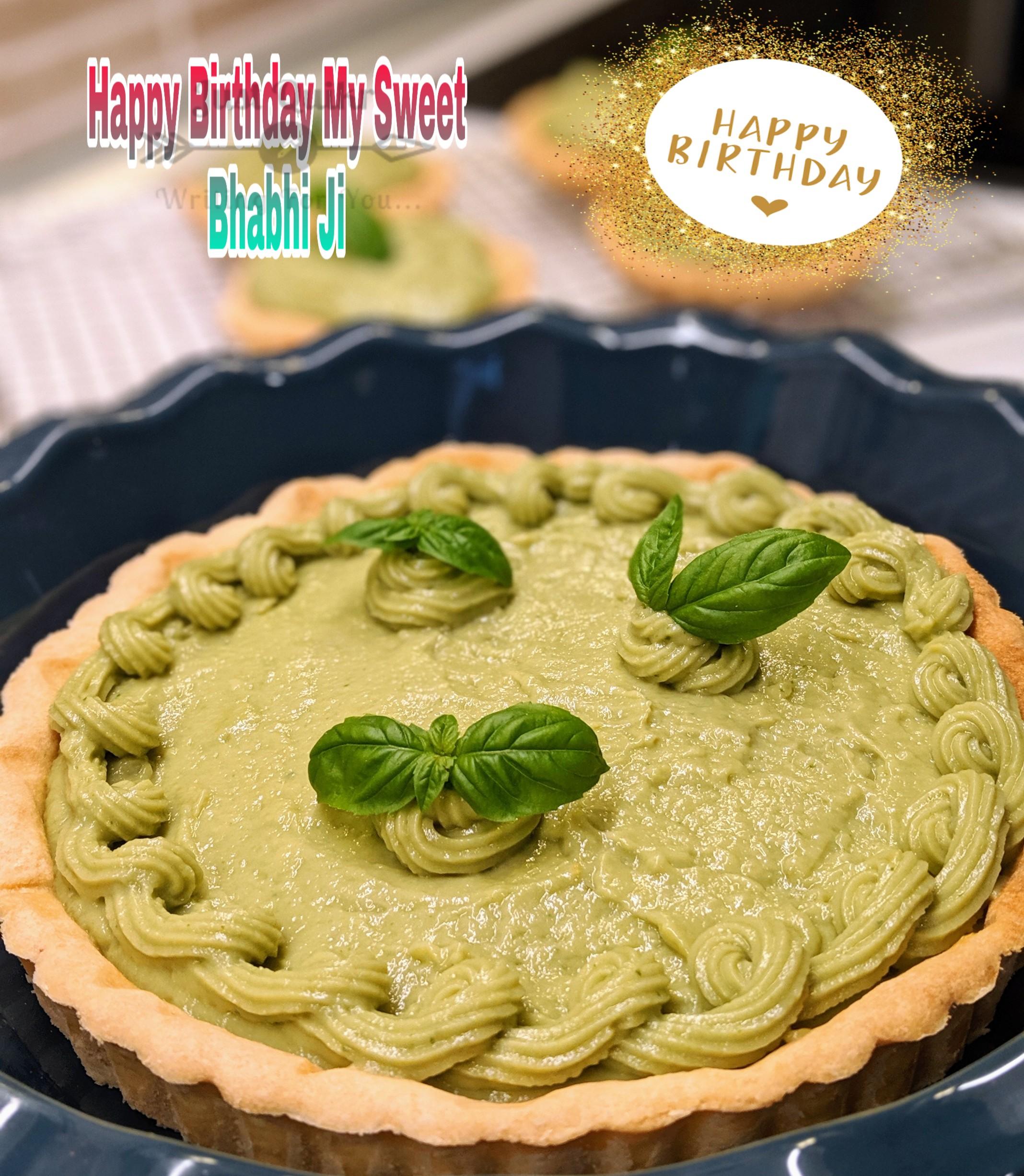 Special Unique Happy Birthday Cake HD Pics Images for Bhabhi Ji