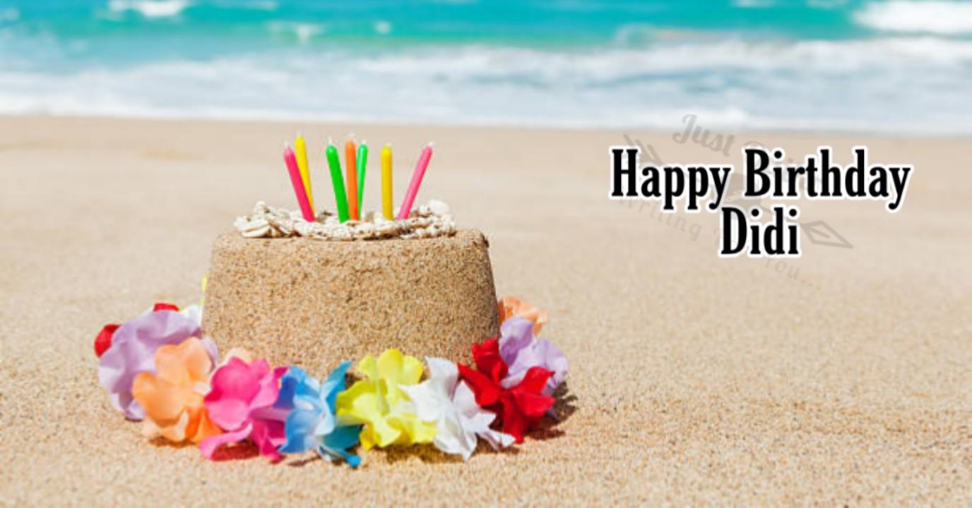 Special Unique Happy Birthday Cake HD Pics Images for Didi