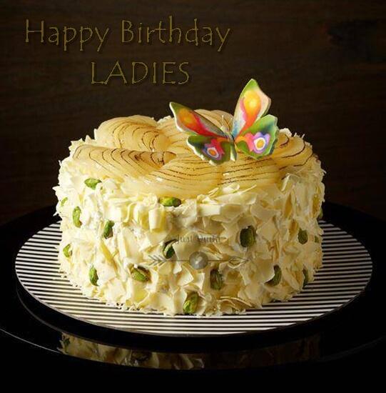 Special Unique Happy Birthday Cake HD Pics Images for Ladies