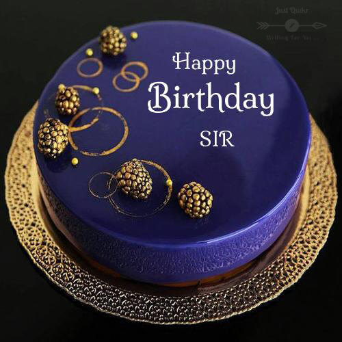 Special Unique Happy Birthday Cake HD Pics Images for Sir