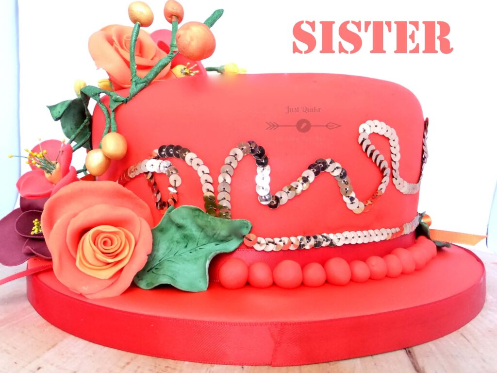 Special Unique Happy Birthday Cake HD Pics Images for Sister