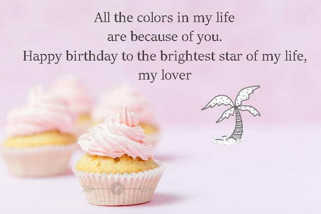 Happy Birthday Cake HD Pics Images with Wishes Quotes for Your Lover