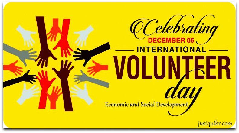 International Volunteer Day for Economic and Social Development
