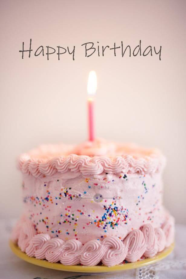 Special Unique Happy Birthday Cake HD Pics Images for Crush
