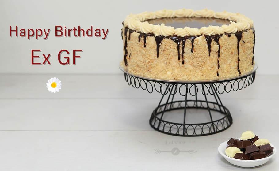 Special Unique Happy Birthday Cake HD Pics Images for Ex GF