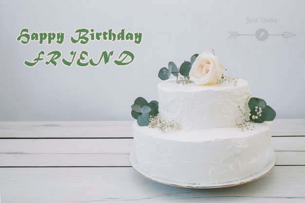 Special Unique Happy Birthday Cake HD Pics Images for Friend in English