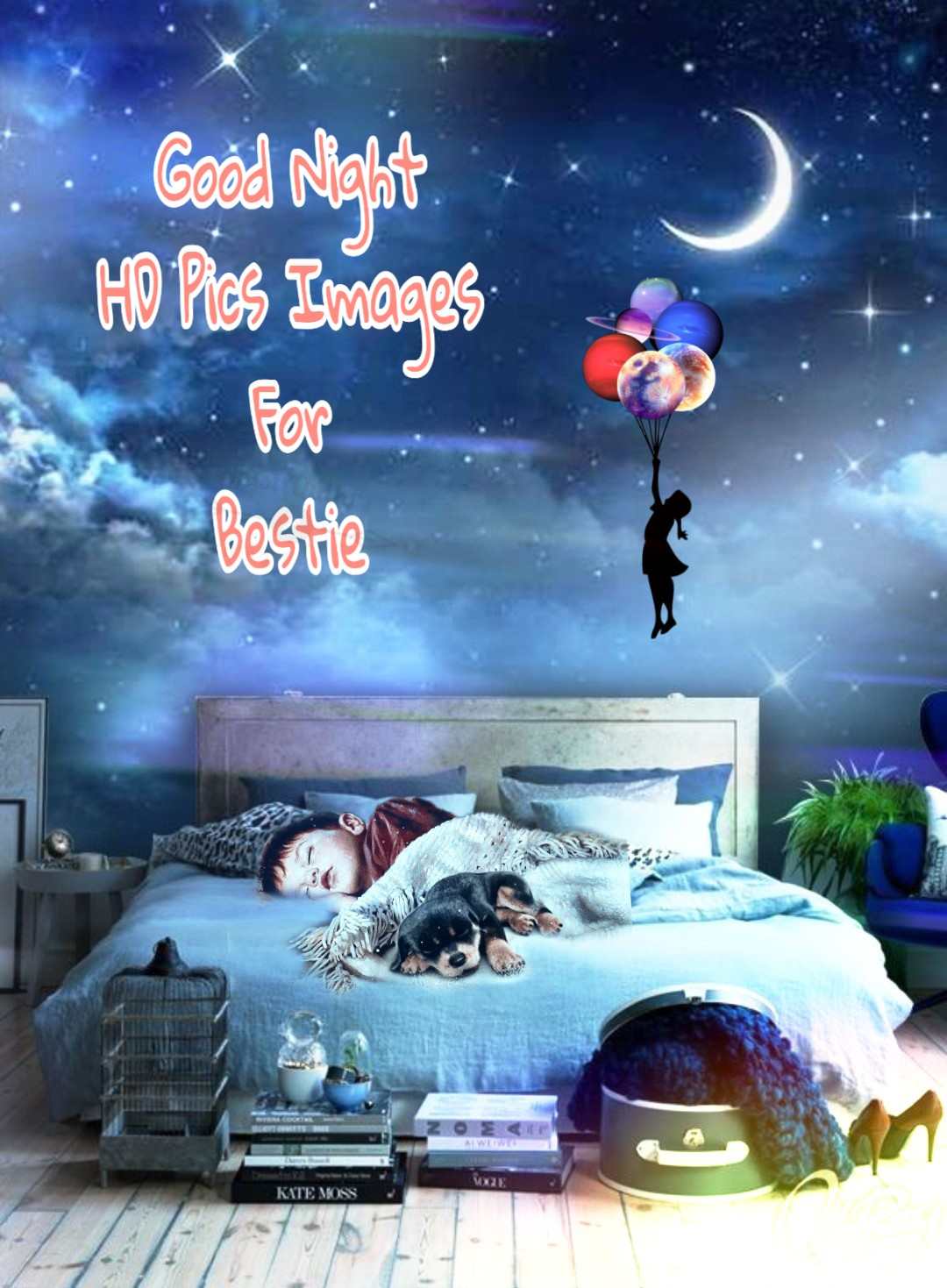 Good Night HD Pics Images For Bestie