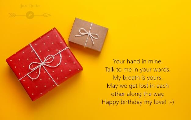 Happy Birthday Romantic Shayari HD Pics Image