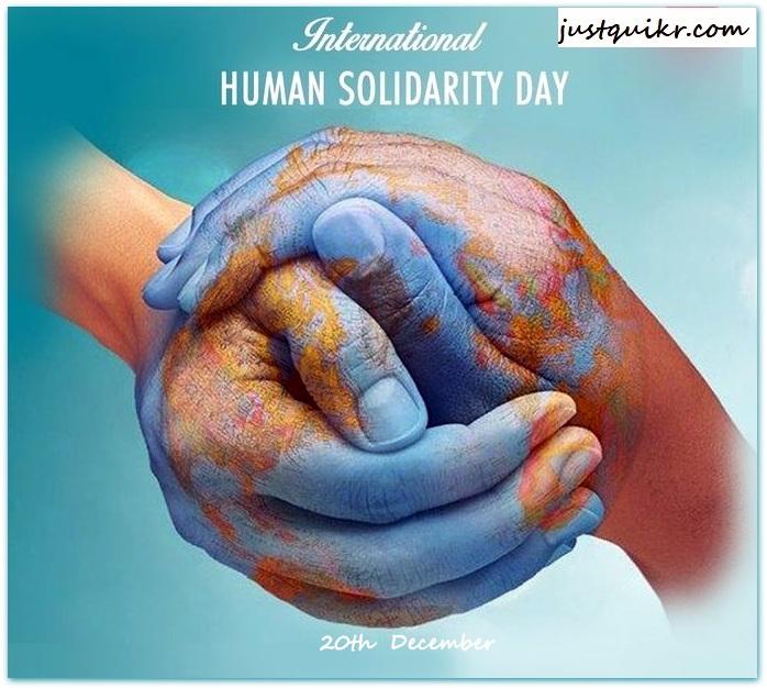 International Human Solidarity Day History And Facts