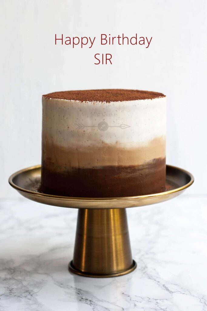 Special Unique Happy Birthday Cake HD Pics Image for Sir
