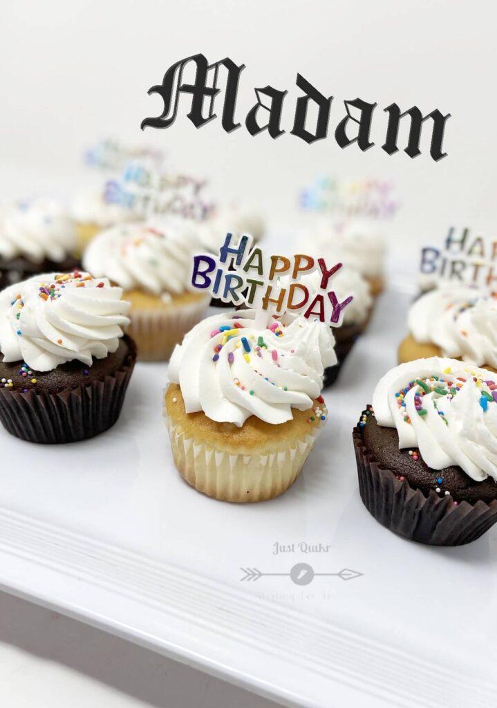 Special Unique Happy Birthday Cake HD Pics Images for Madam
