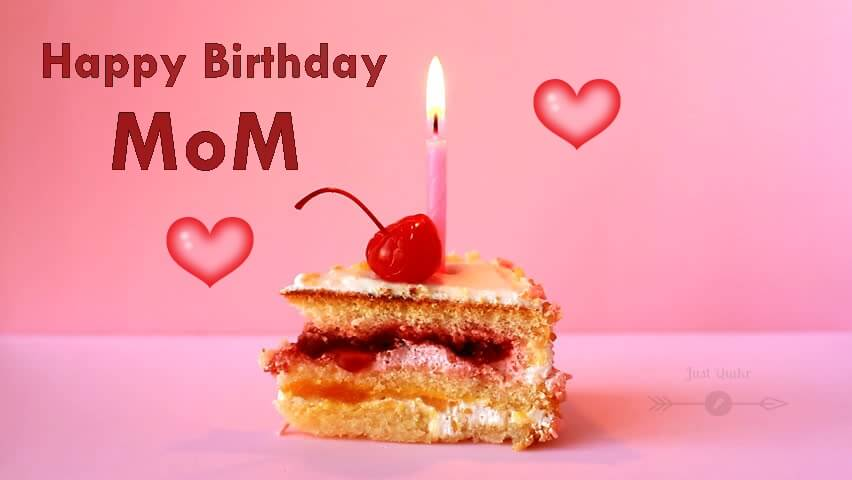Special Unique Happy Birthday Cake HD Pics Images for Mom