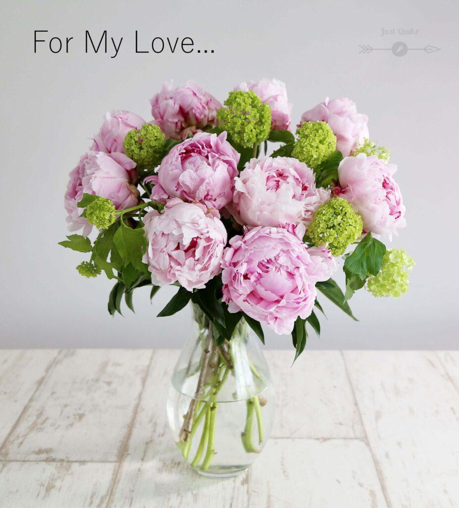 Valentine Day Beautiful Flowers for Girlfriend