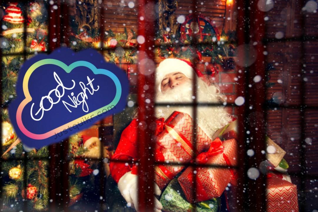 Good Night HD Pics Images For Christmas