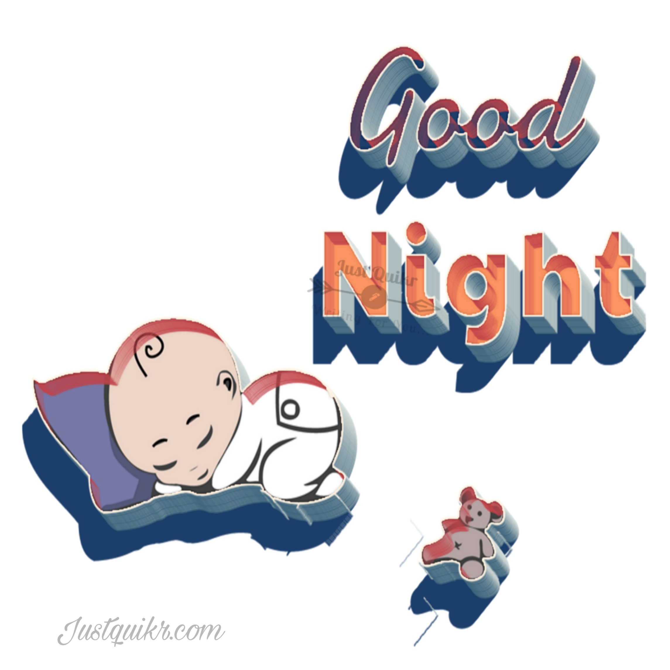 Good Night HD Pics Images For Cute Baby