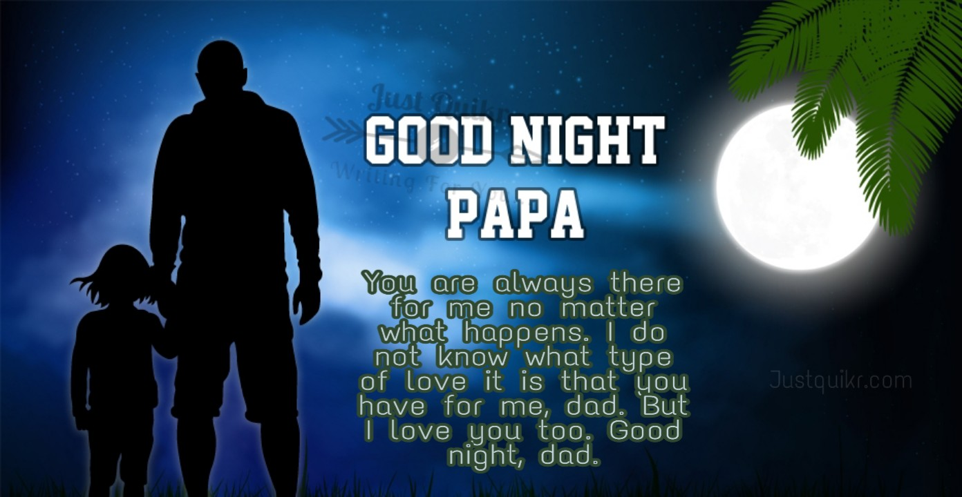 Good Night HD Pics Images For Daddy