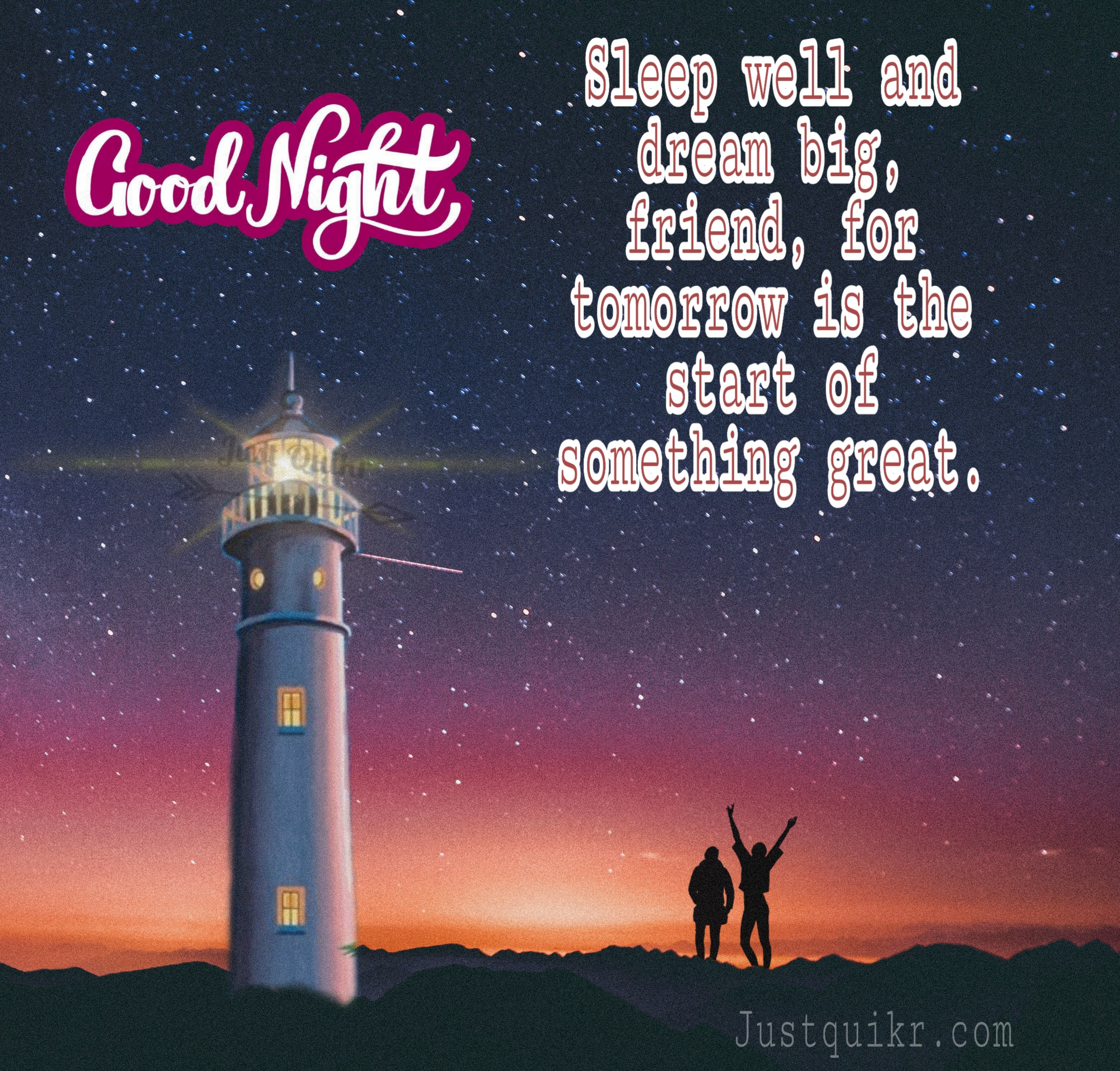 Good Night HD Pics Images For Dear Friend