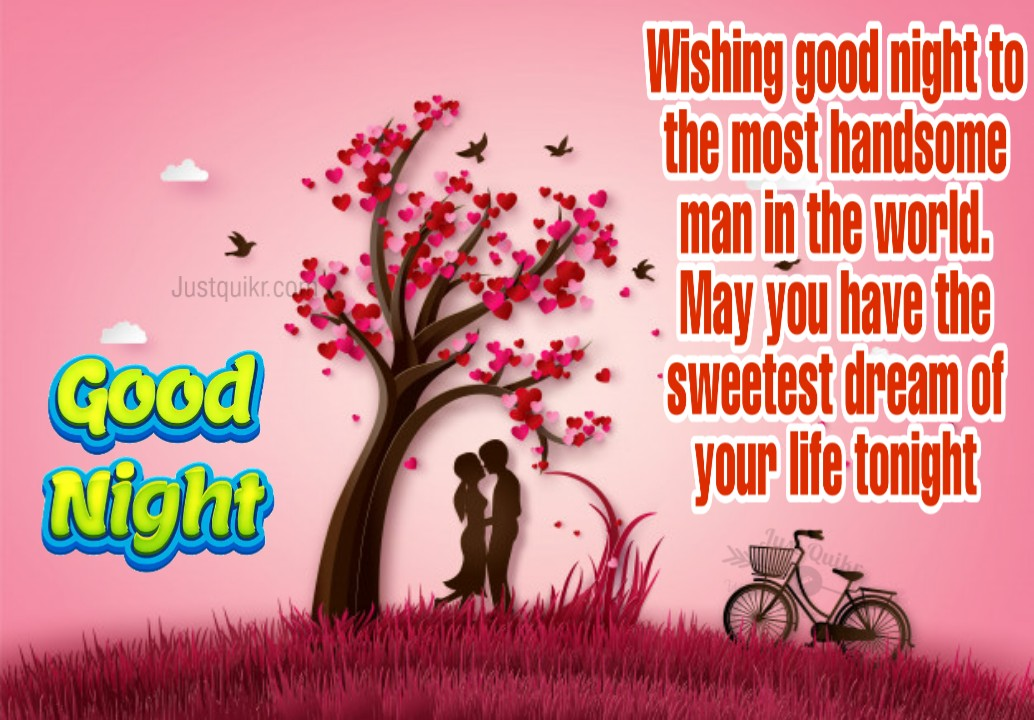 Good Night HD Pics Images For Him With Love