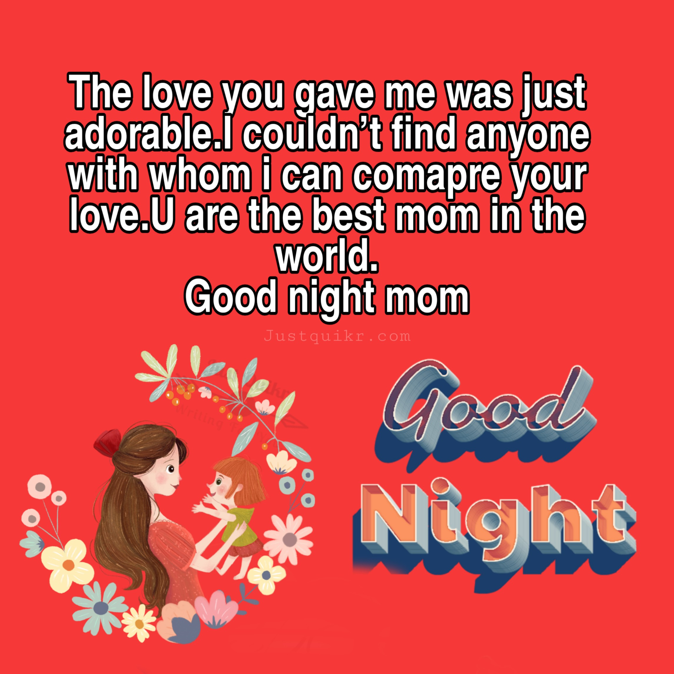Good Night HD Pics Images For My Mom