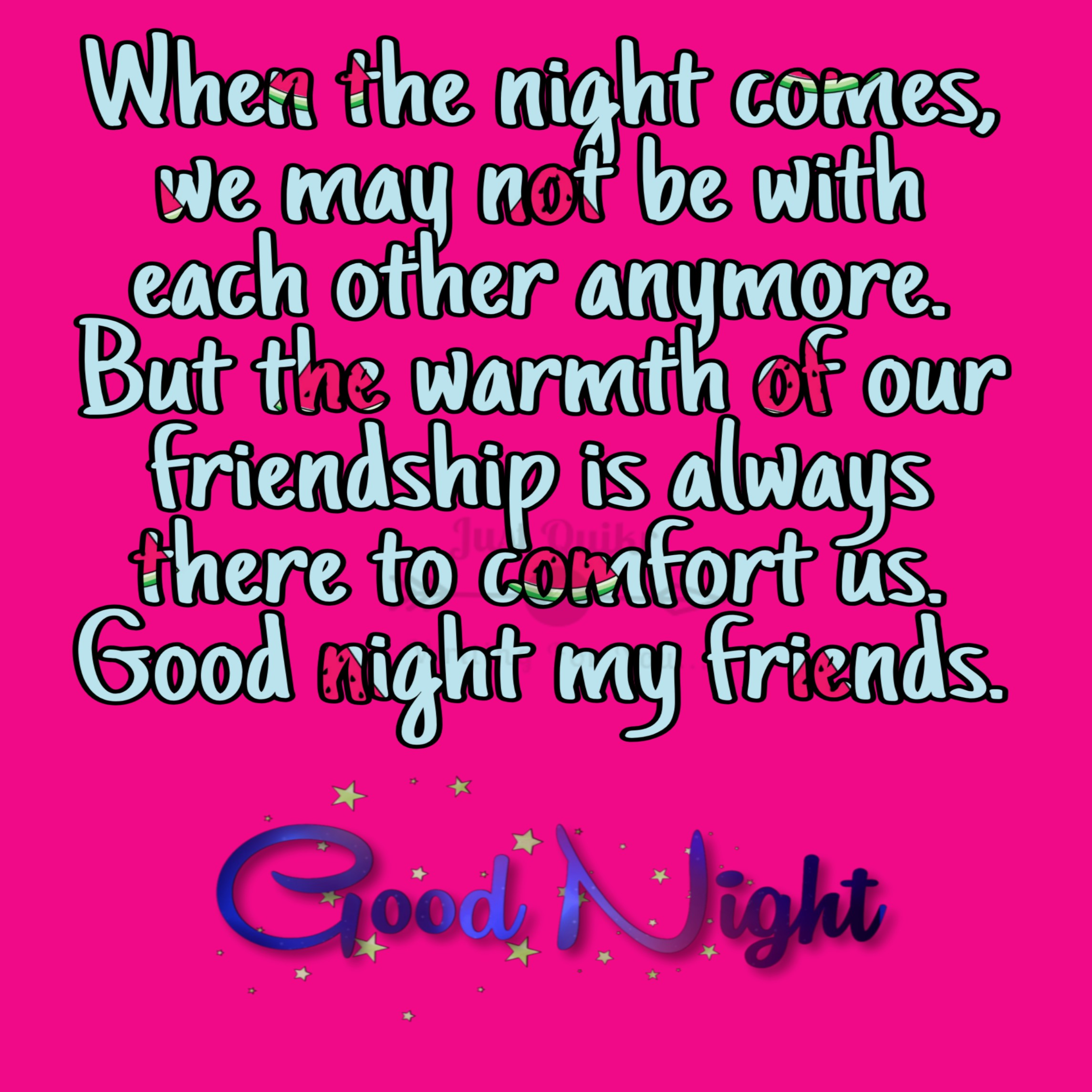Good Night HD Pics Images For Old Friends