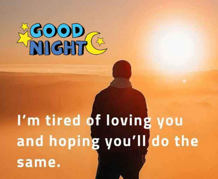 Good Night HD Pics Images For One Side Love
