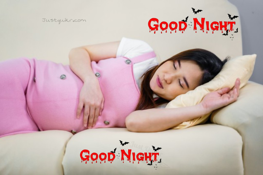 Good Night HD Pics Images For Pregnant Wife