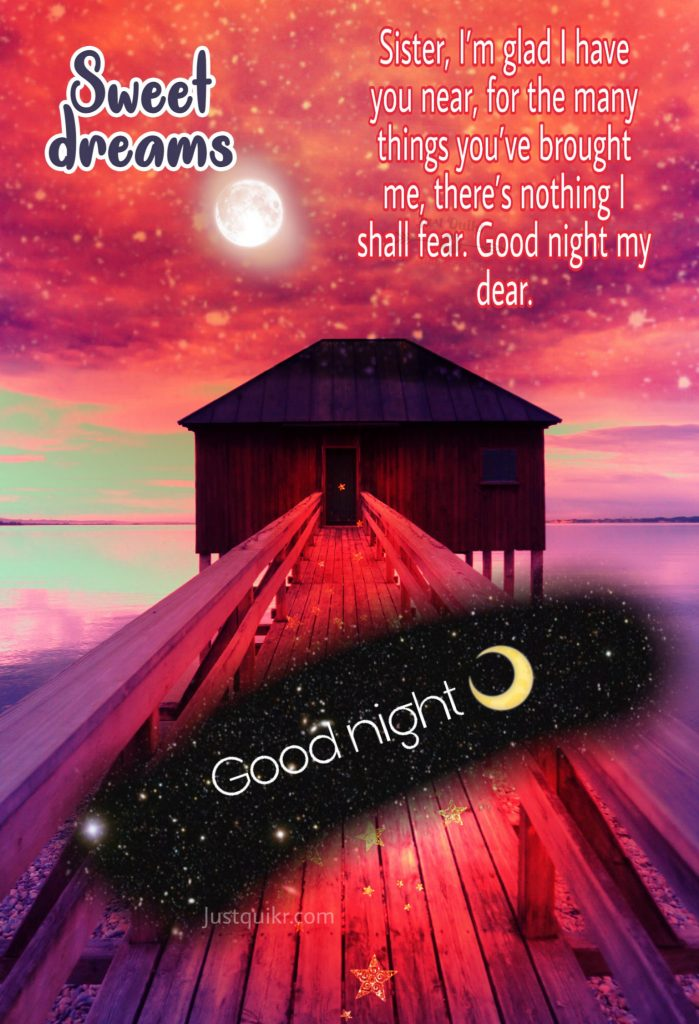 Good Night HD Pics Images For Sister
