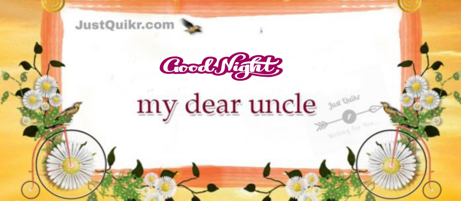 Good Night HD Pics Images For Uncle