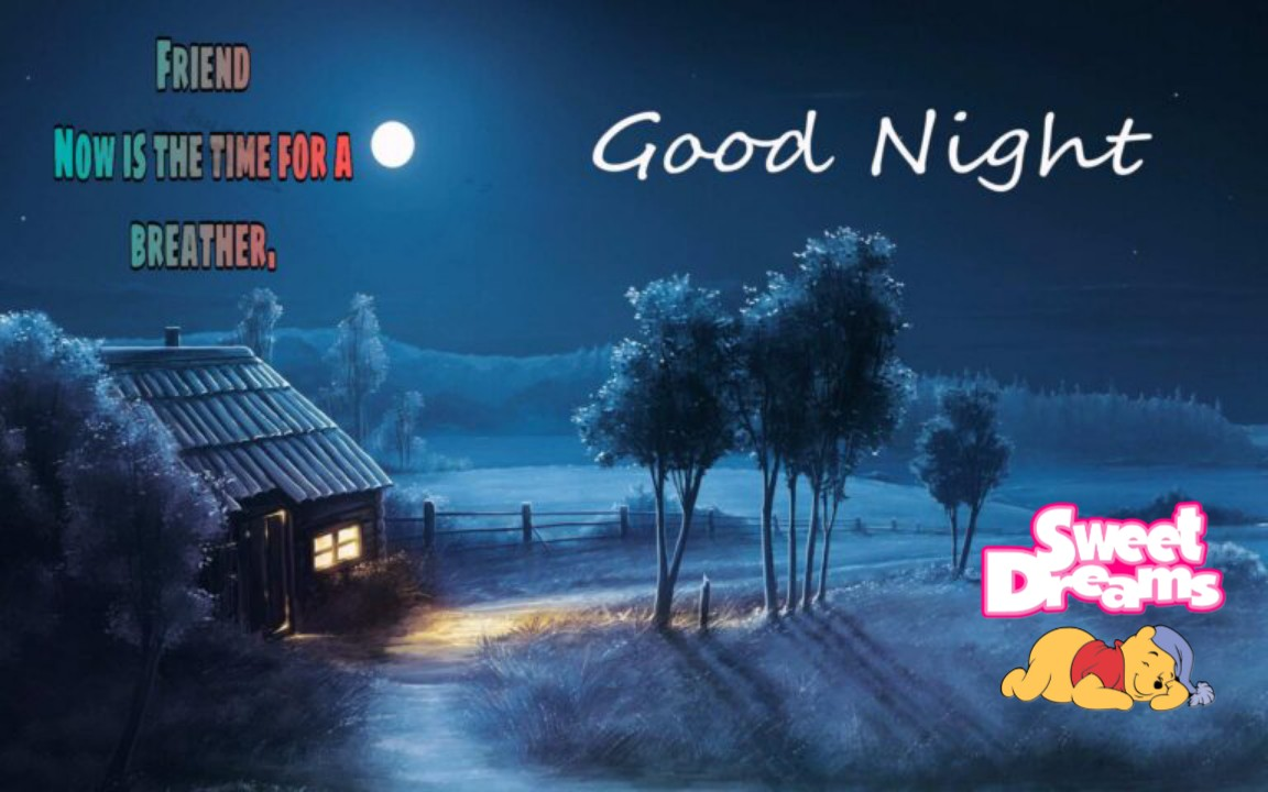 Good Night HD Pics Images For Very Special Friend