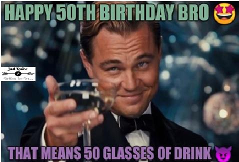 50th Birthday meme funny