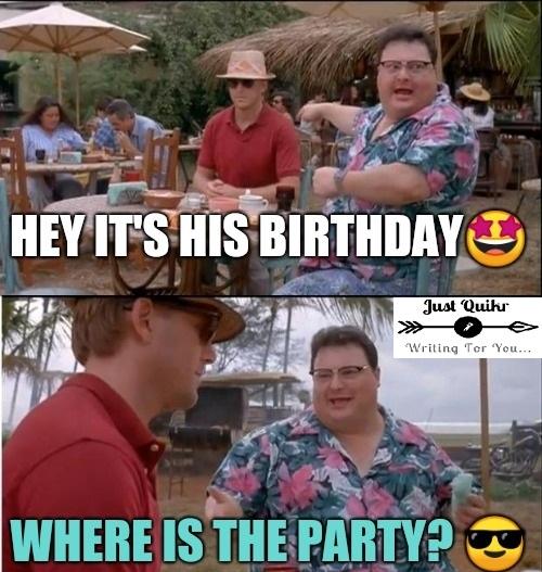 Cute birthday meme