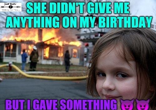 Female Birthday memes pics