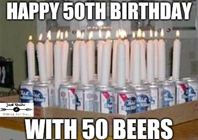 Funny 50th birthday meme photos