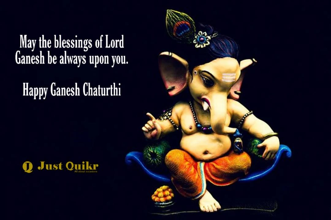 Ganesh Chaturthi Wishes in English